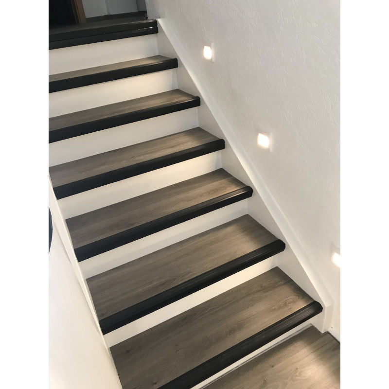 Anti Slip Stair Nosing Prevents Accidents Slip No More