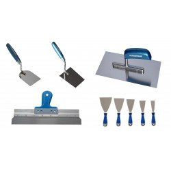 BLUE DOLPHIN – STAINLESS STEEL TOOLS – 9 PCS - PRICE FOR SET