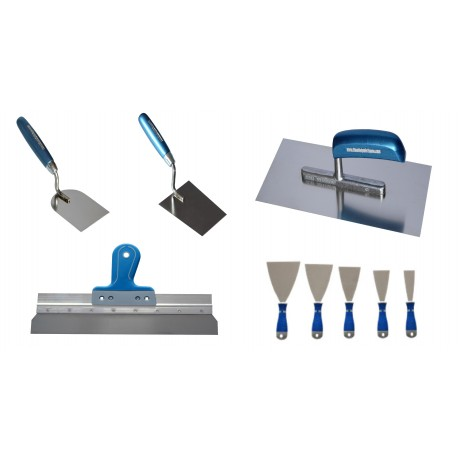 BLUE DOLPHIN – STAINLESS STEEL TOOLS – 9 PCS