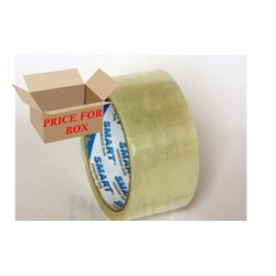 ACRYLIC PACKAGING TAPE - TRANSPARENT - PRICE FOR 6 PIECES